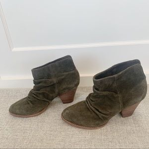Olive Green Splendid Slouch Ankle bootie- 8 M